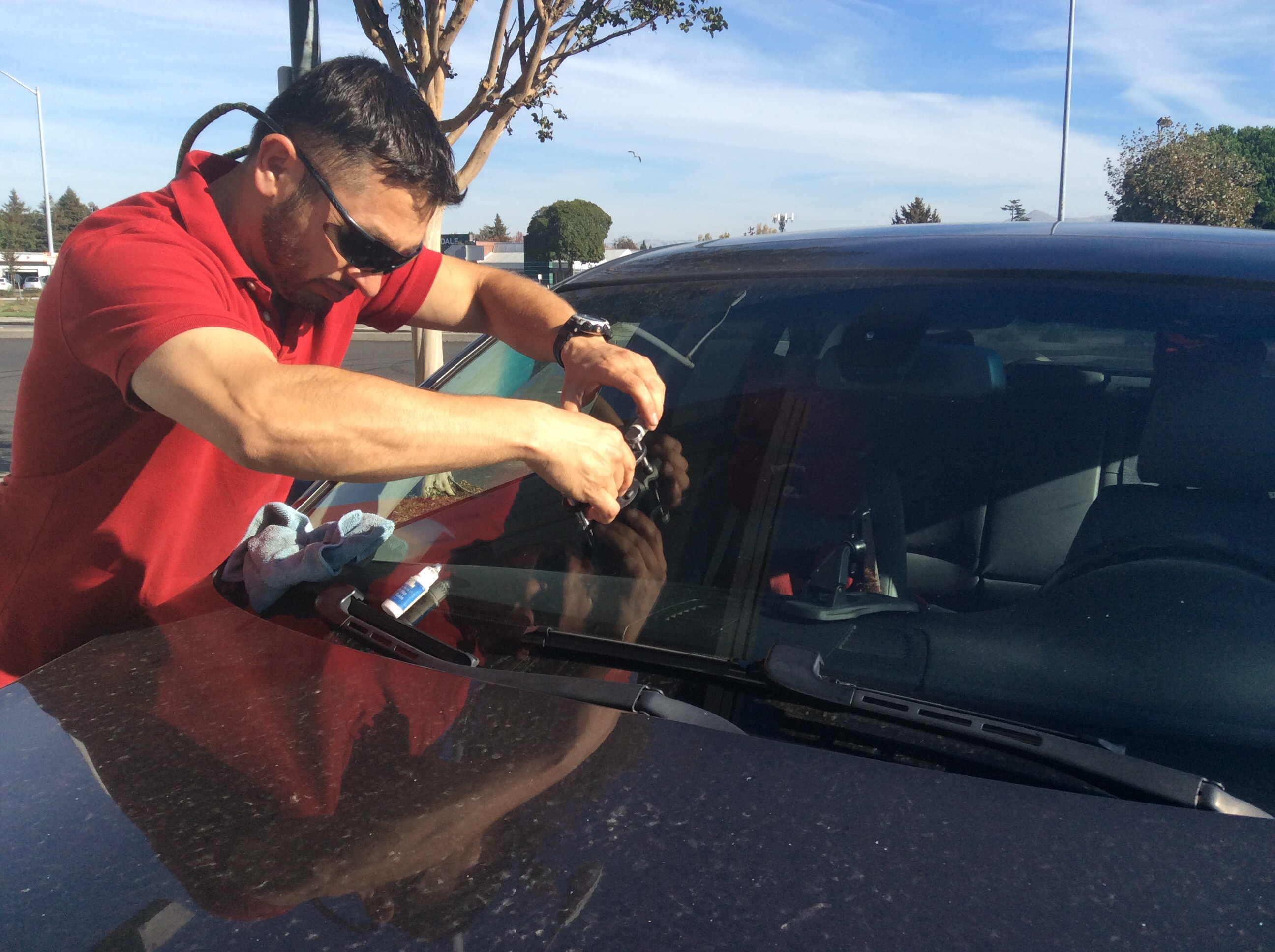 Windshield Chip Repair in Fremont California by Changeautoglass.com