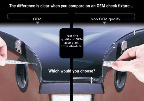 OEM and After Market Auto Glass Difference