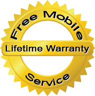 Auto Glass Life Time Warranty