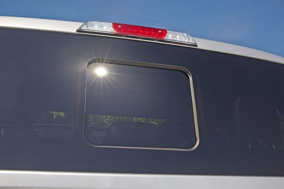 2015 Ford F-150 Seamless Sliding Rear Window