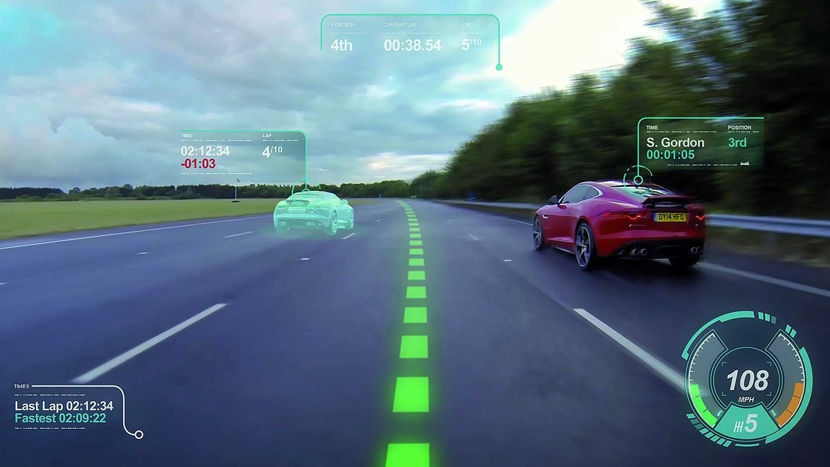 Jaguar Concept Windshield Shows Off Augmented Reality in the Car